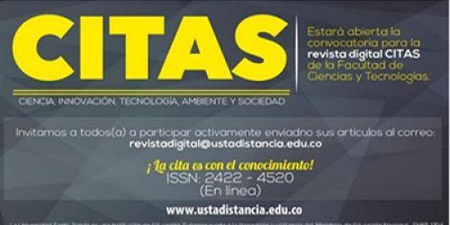 Invitación Publicación Revista CITAS Volumen 7 2021