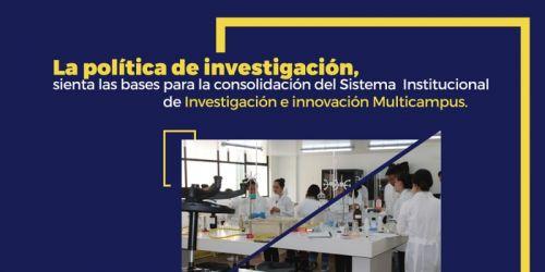 !la política de investigación!