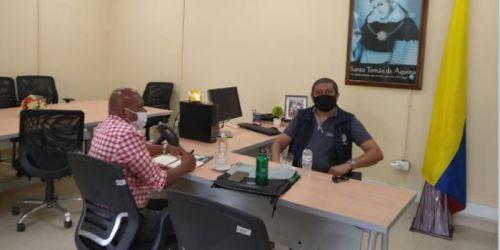 Reunión para Fortalecimiento de Convenio con la Alcaldía de San Juan de Urabá y Universidad Santo Tomás CAU Montería